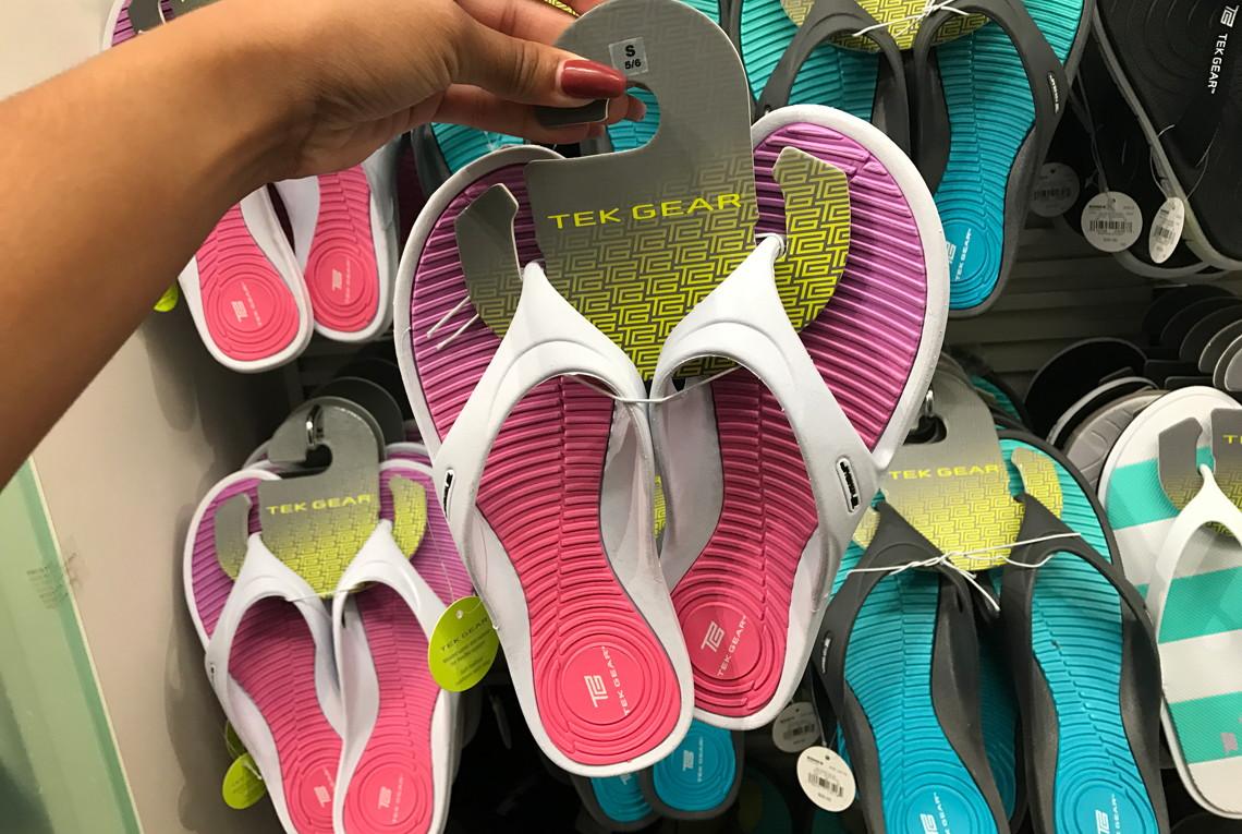 3d7a5b01d2b Women s Tek Gear Flip-Flops