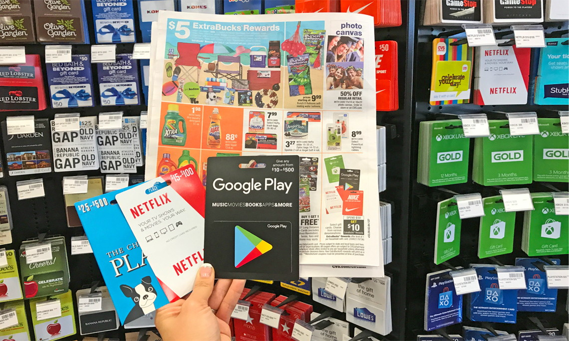 gift cards available at cvs save 10 00 on select gift cards at cvs 12161