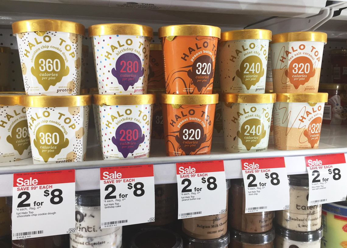photo regarding Halo Top Printable Coupon named Halo Supreme Ice Product, Basically $1.75 at Emphasis! - The Krazy Coupon