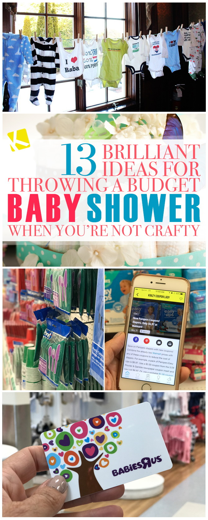 12 brilliant ideas for throwing a budget baby shower when