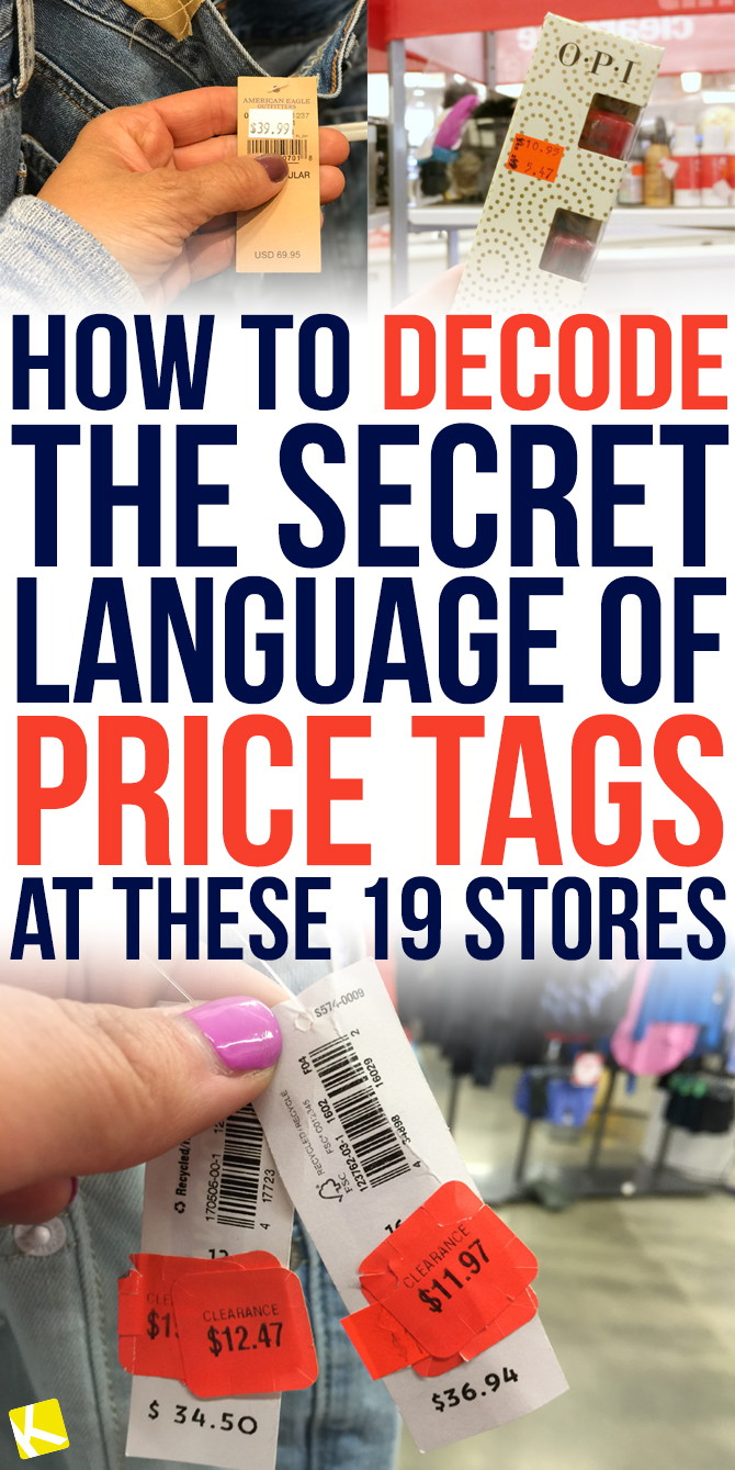 d54c2cf6089d How to Decode the Secret Language of Price Tags at These 19 Stores - The  Krazy Coupon Lady
