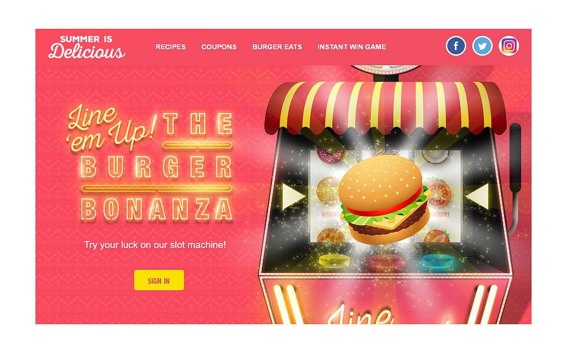 Win Free Groceries! New Kroger Burger Bonanza Instant Win Game
