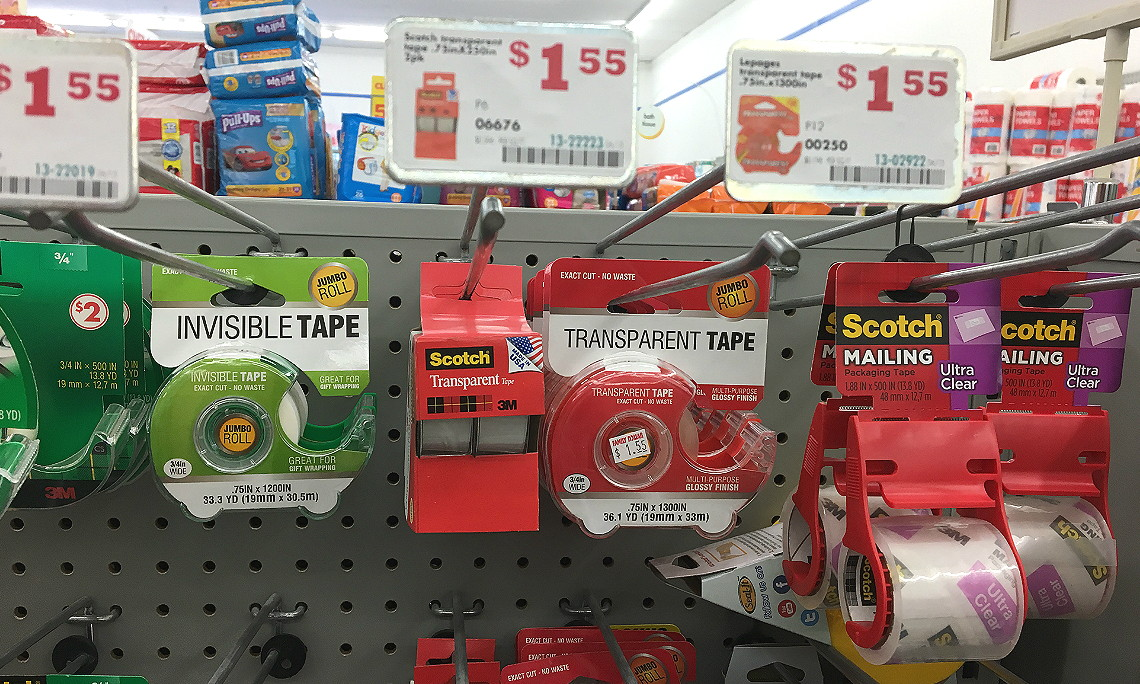 Scotch Packaging Tape, Only $0 55 at Family Dollar! - The Krazy