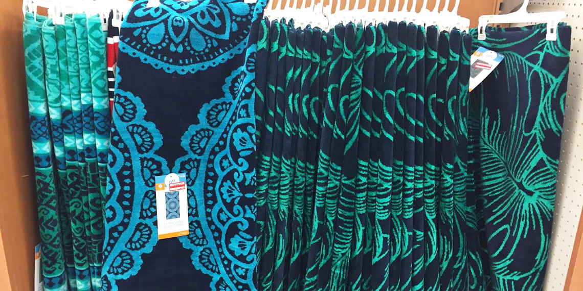 Clearance Deal Beach Towels Only 7 11 At Target The Krazy