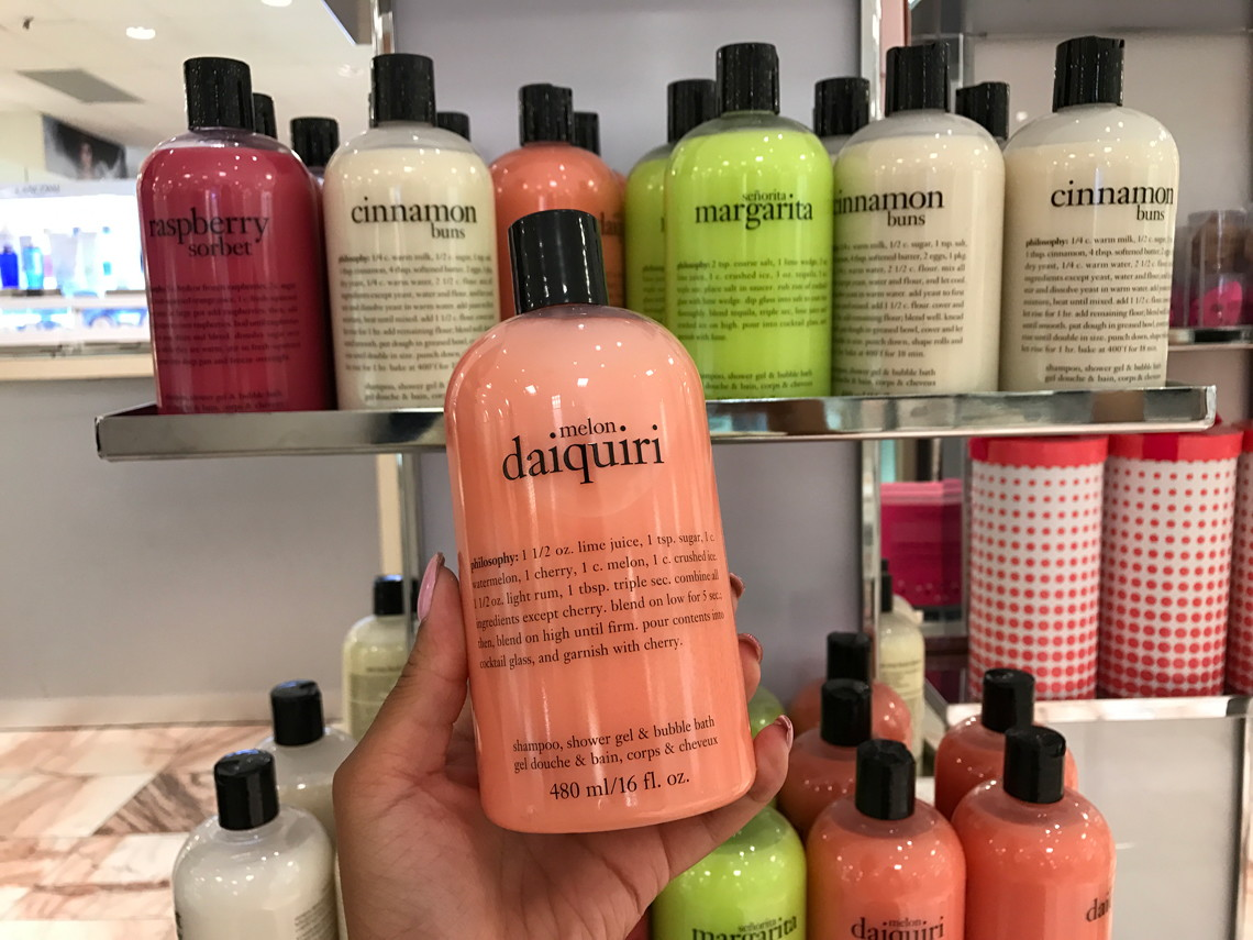 �ล�าร���หารู��า�สำหรั� Philosophy Daiquiri Melon�Shampoo, Shower Gel & Bubble Bath 480 ml.