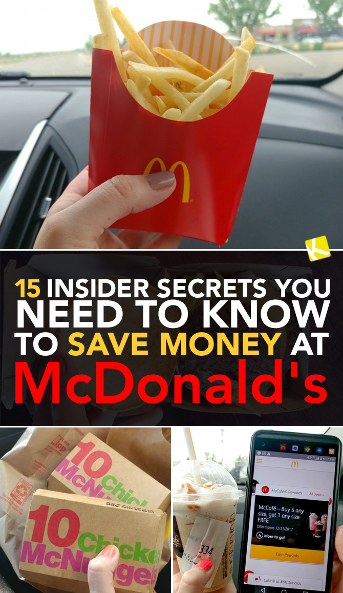 14 Insider Secrets You Need To Know To Save Money At Mcdonald S