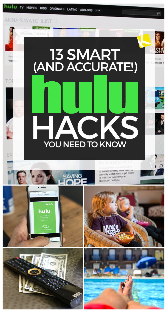 13 Smart (and Accurate!) Hulu Hacks You Need to Know - The Krazy
