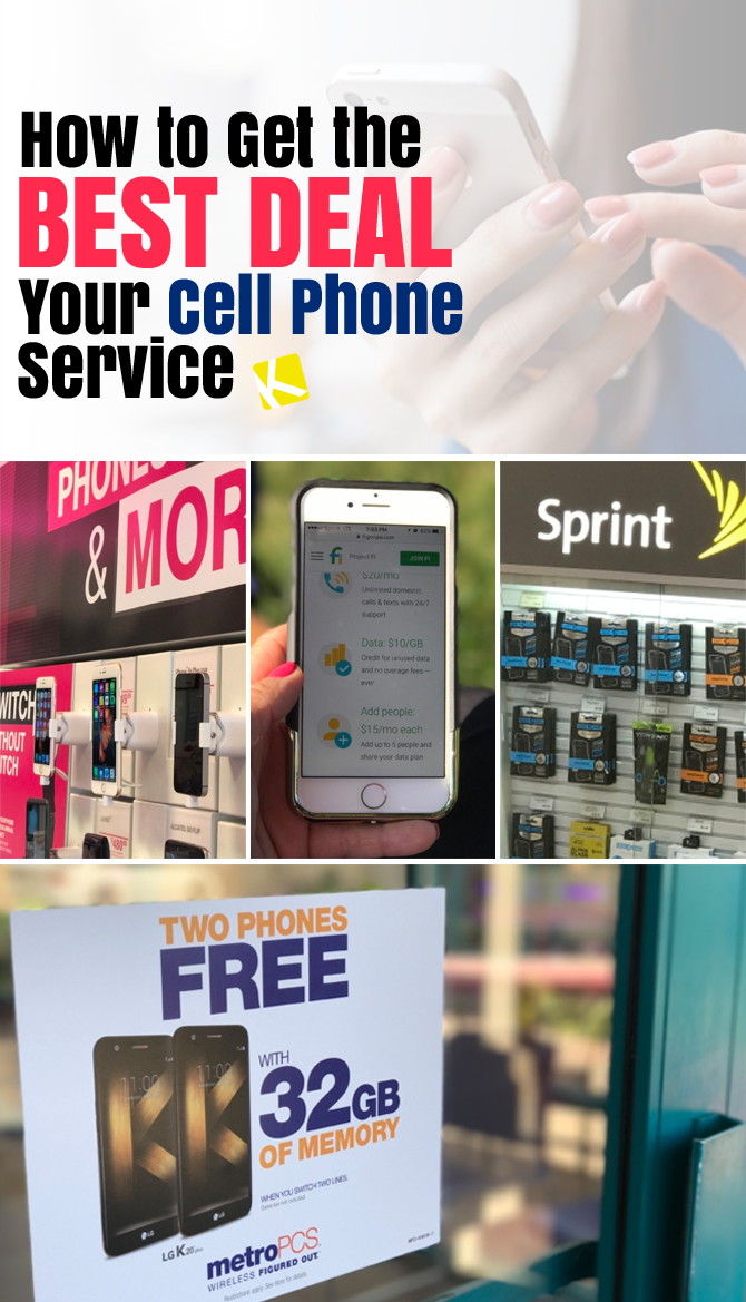How to Get the Best Deal on Your Cell Phone Service - The