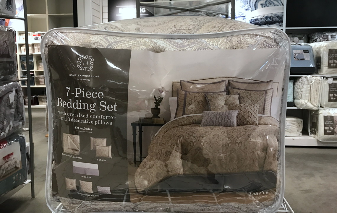 Jcpenney Com 7 Piece Comforter Sets Only 71 39 The Krazy