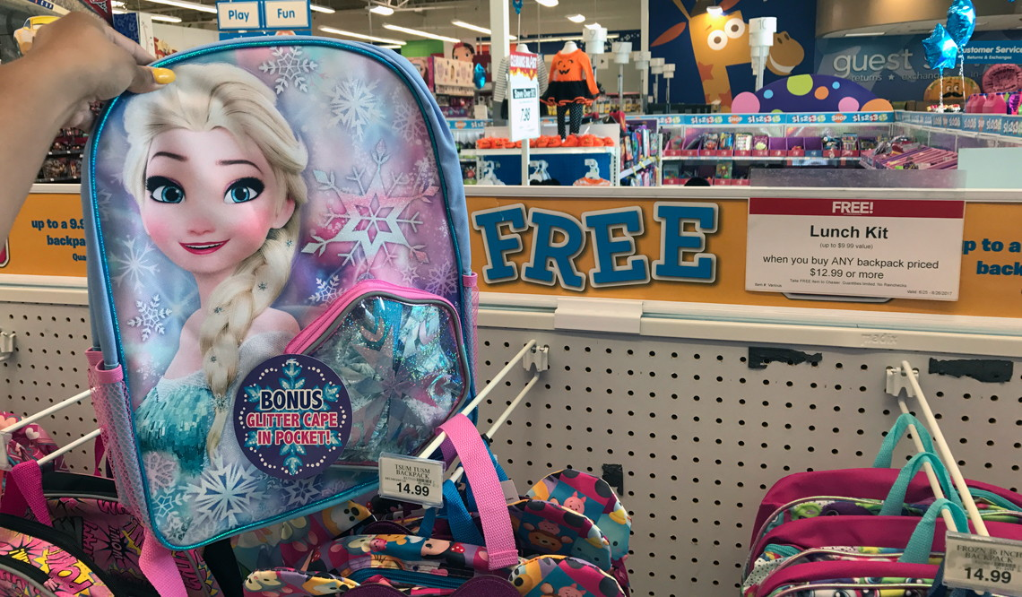 Toys For 8y Toys Rus : Free lunch kit with backpack purchase at toys quot r us