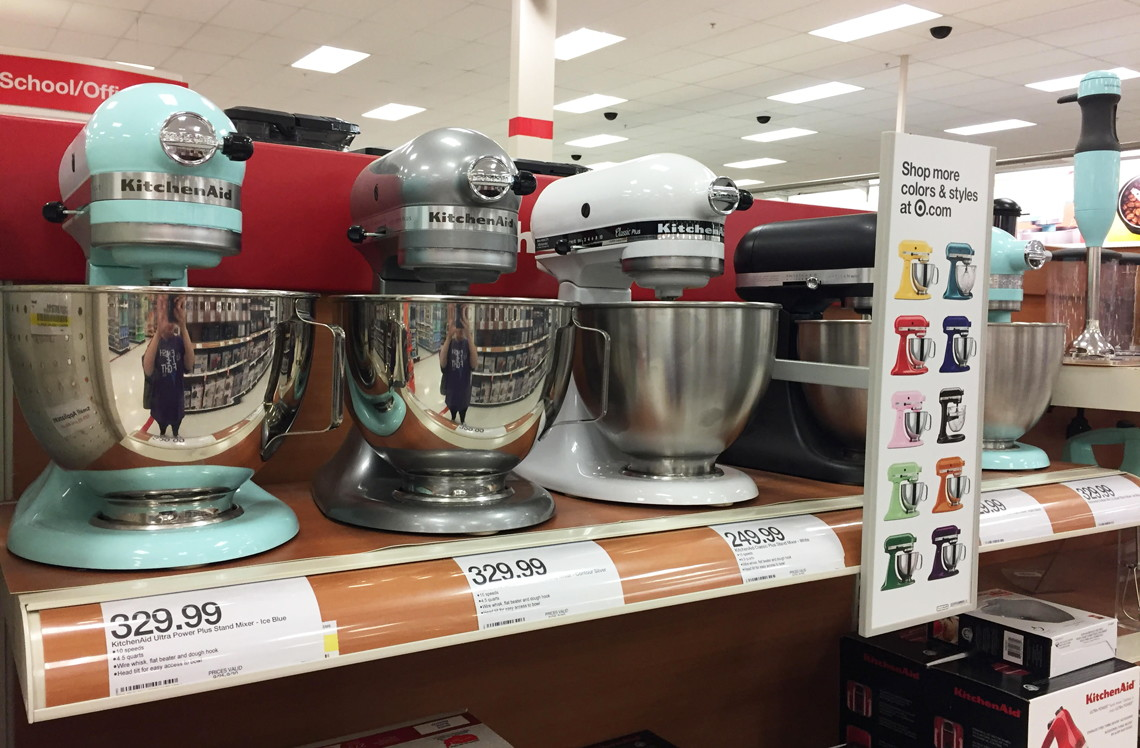 KitchenAid Stand Mixer, Only $153.89 at Target (Reg. $249.99)! - The on kenwood limited, amana corporation, kenwood chef, whirlpool corporation, meyer corporation, hamilton beach brands, sunbeam products,