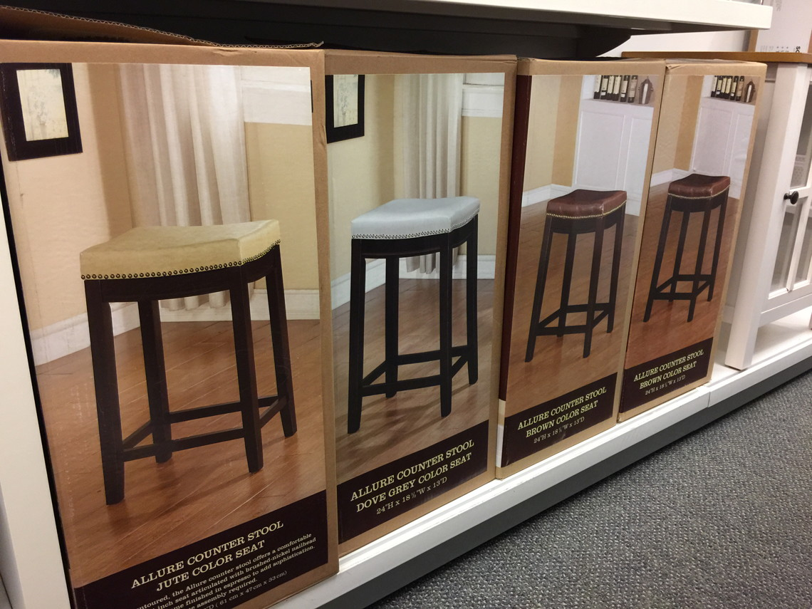 Brilliant Linon Allure Counter Stools Only 47 59 At Kohls Reg Andrewgaddart Wooden Chair Designs For Living Room Andrewgaddartcom