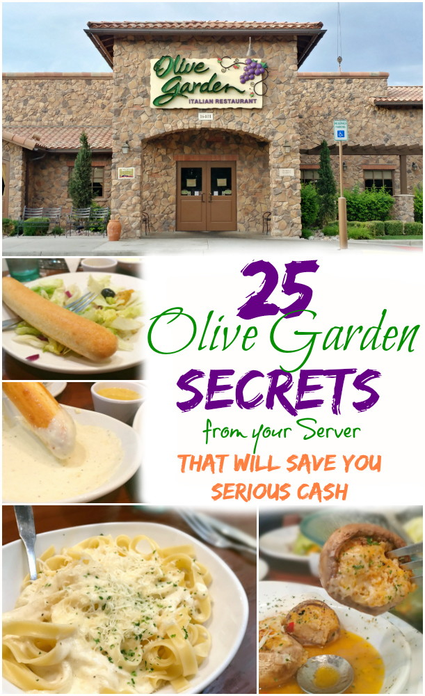 25 Olive Garden Secrets From Your Server That Ll Save You Serious