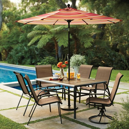 Sonoma Stackable Sling Patio Chair 4 Pc Set Only 101 99 25 00 Kohl S Cash The Krazy Coupon Lady
