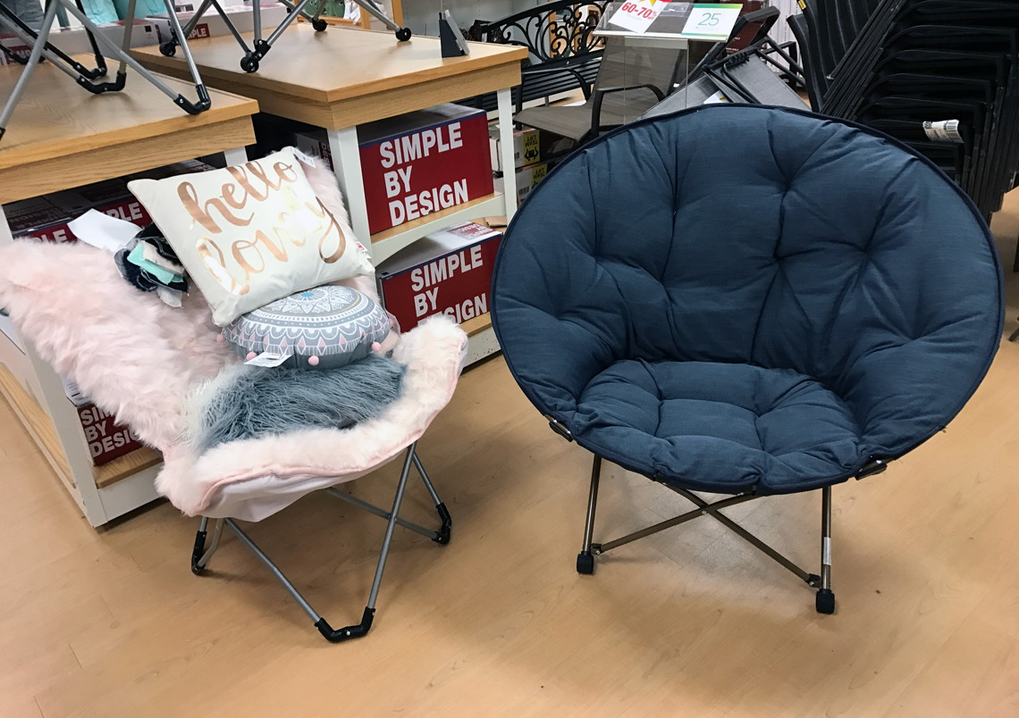 Simple By Design Memory Foam Butterfly Chair Only 3999 At Kohls