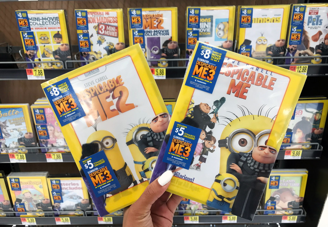 Walmart coupons for dvds