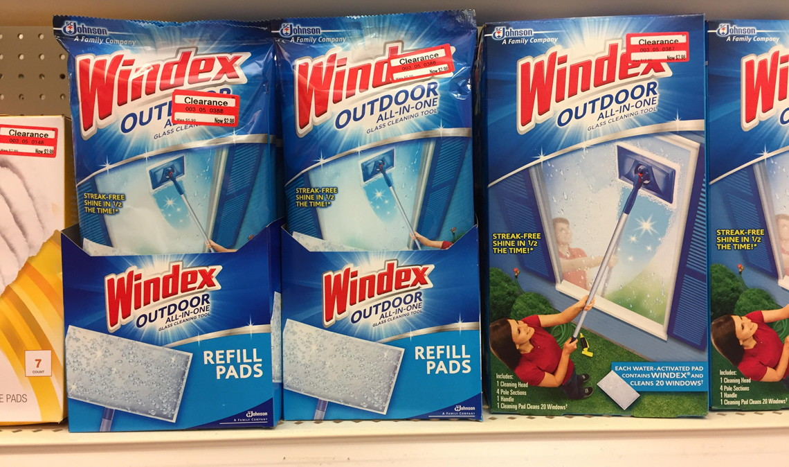 Five Free Windex Outdoor Refill Pads At Target The Krazy