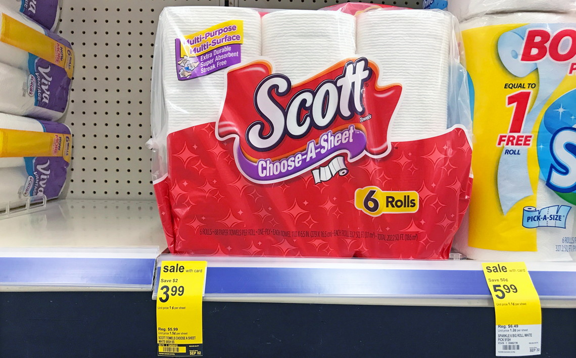 new coupons scott bath tissue u0026 paper towels only 3 49 at