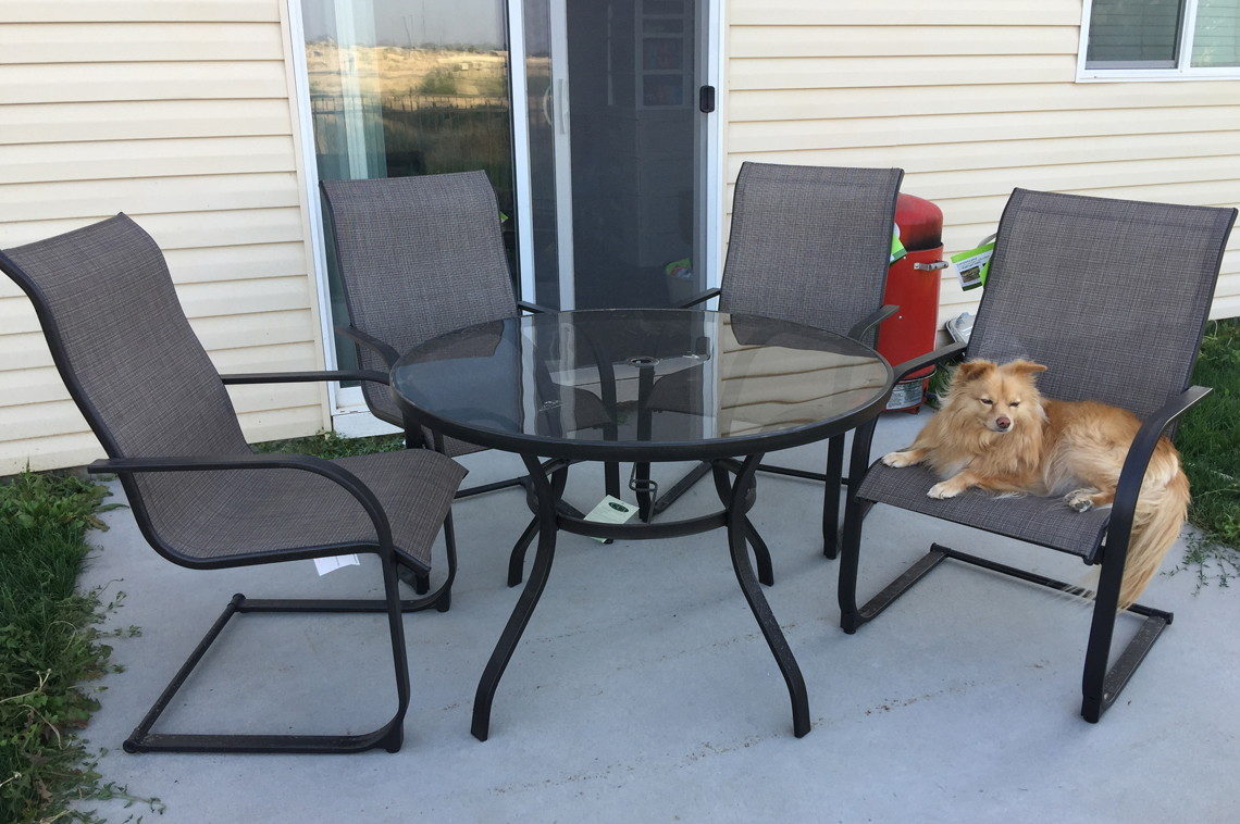 Mainstays Bristol Springs 5 Pc Dining Set, Only $49 at Walmart (Reg ...