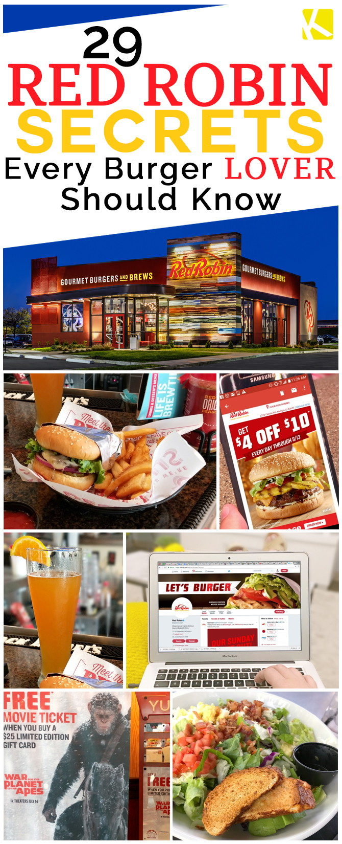 29 Red Robin Secrets Every Burger Lover Should Know The