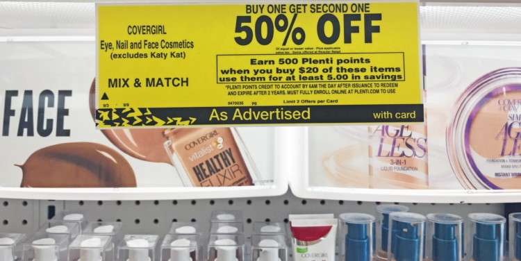 Covergirl Cosmetics, as Low as $1.66 at Rite Aid!