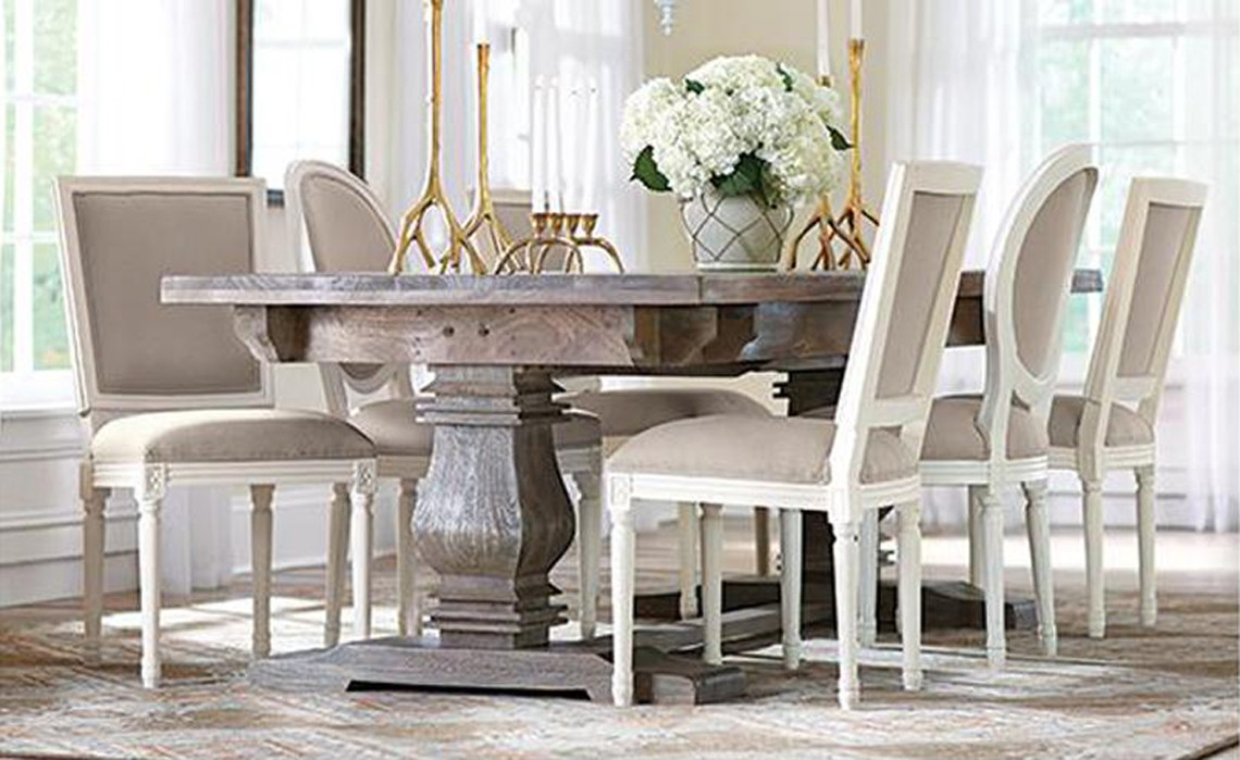 Home Decorators Aldridge Extendable Dining Table, Only $809.46 At Home Depot  Reg.  $1499.99!   The Krazy Coupon Lady Part 80