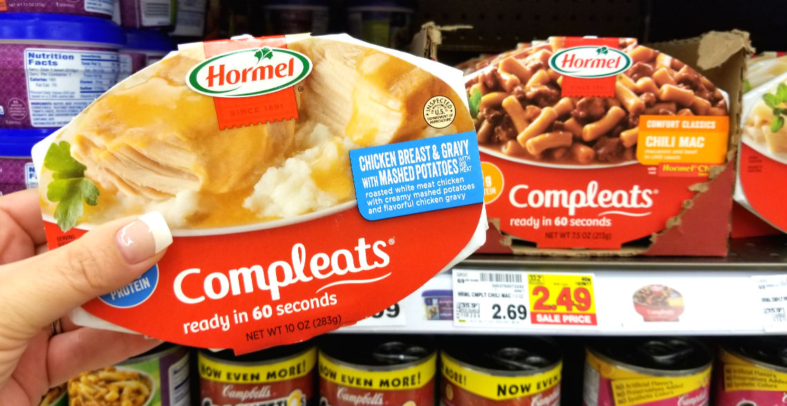 Use Your Phone Free Hormel Compleats Microwave Meal At