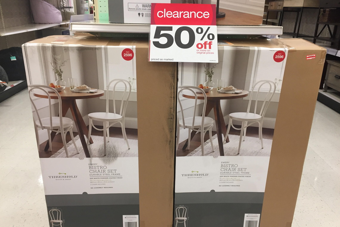 50% Off Clearance Furniture + 15% Off Cartwheel At Target!   The Krazy  Coupon Lady