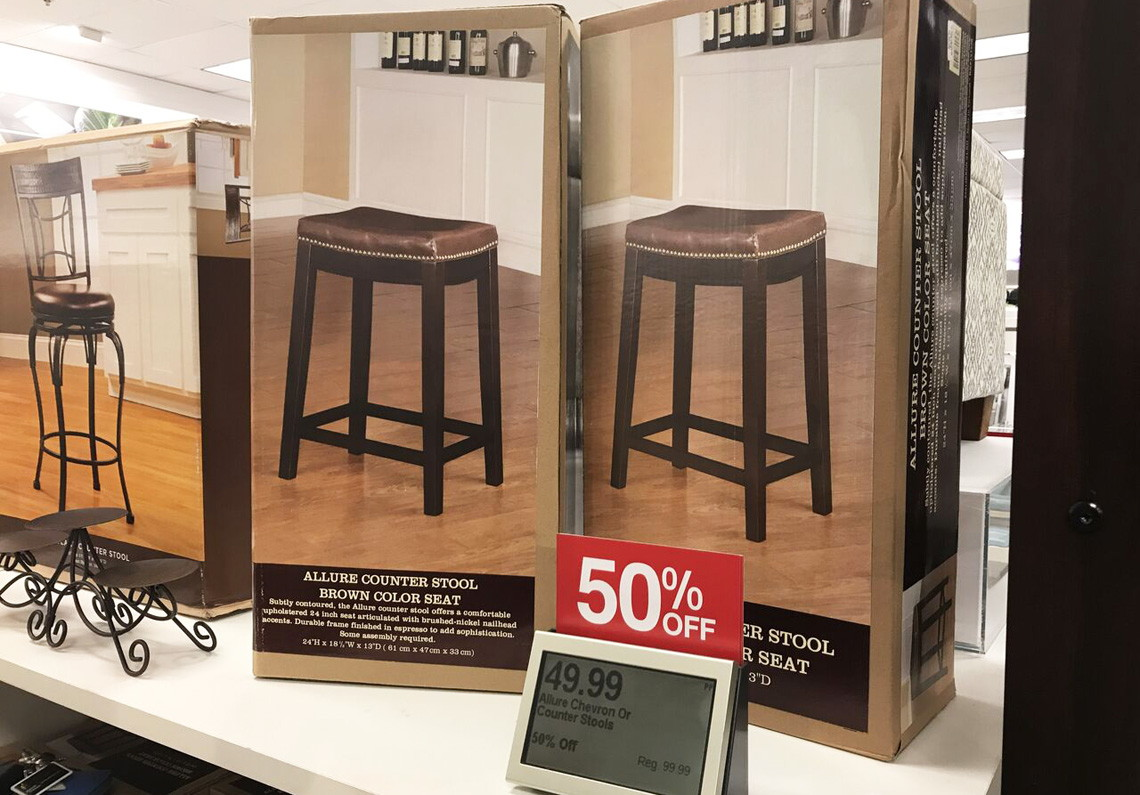 Strange Linon Allure Counter Stools Only 42 49 Each 15 Kohls Gmtry Best Dining Table And Chair Ideas Images Gmtryco
