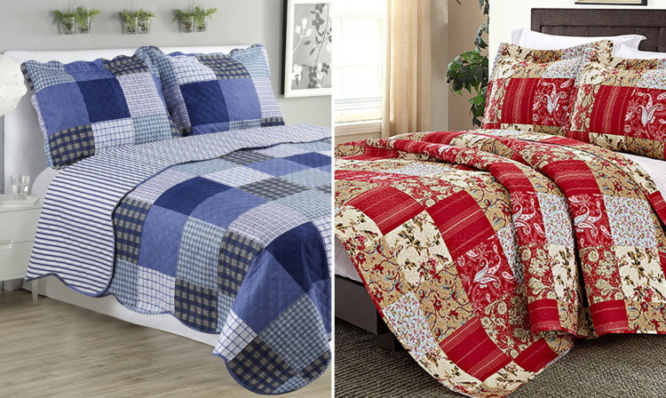 Today Only Quilt Sets Only 19 79 From Zulily Reg 99