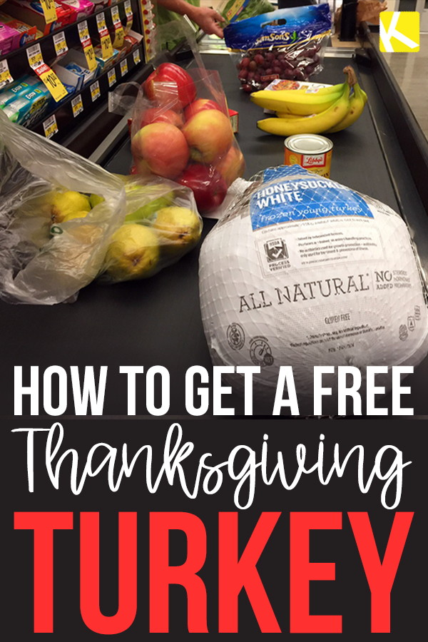 How to Get a Free Thanksgiving Turkey - The Krazy Coupon Lady