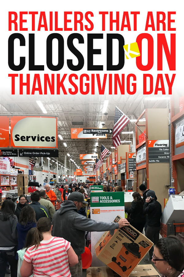 83 Retailers That Are Closed on Thanksgiving Day 2018 ...