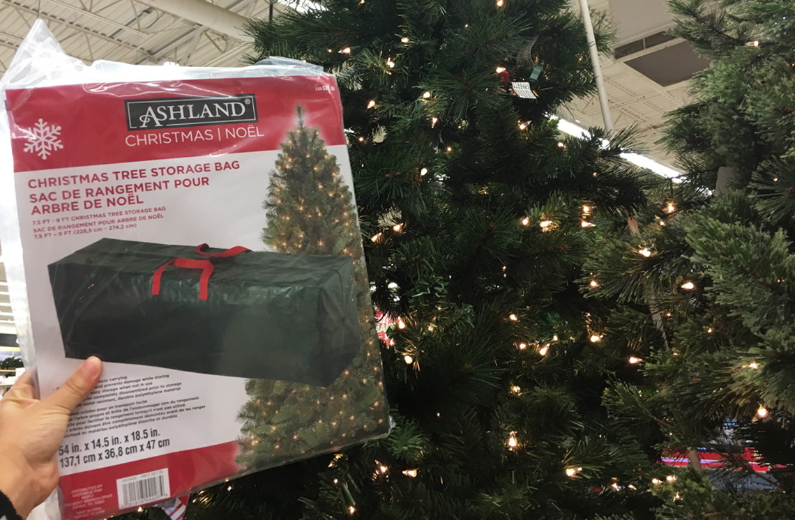 best tree event ever at michaels up to 60 off sale free tree storage bag the krazy coupon lady - Christmas Tree Storage