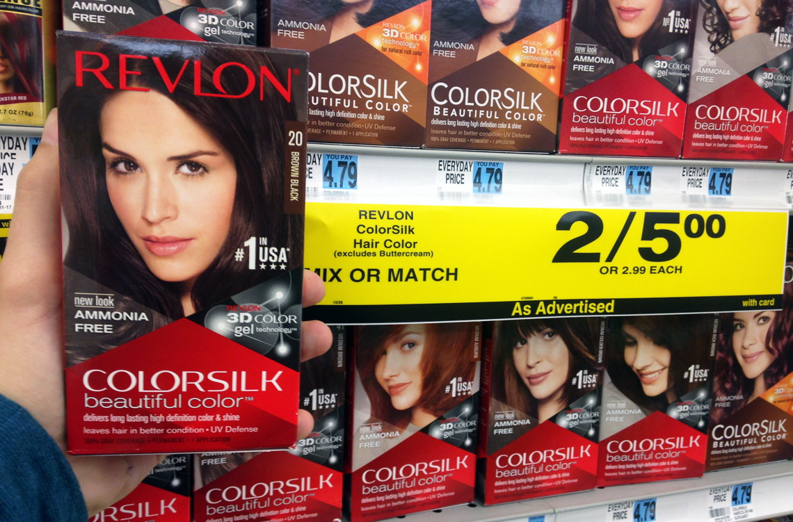 No Coupons Needed! Revlon Hair Color, Only $2.50 at Rite Aid!