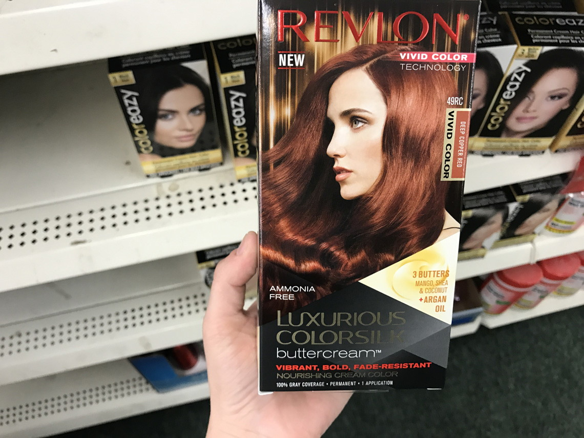 Free Revlon Colorsilk Buttercream Hair Color At Dollar Tree The