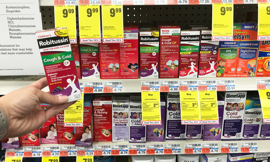 45c0a8e677 Children's Robitussin, Only $1.99 at CVS! | The Krazy Coupon Lady |  Bloglovin'
