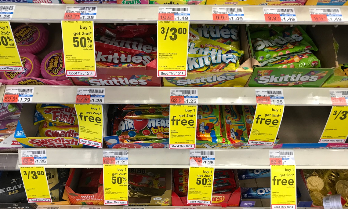Sweet Deal! Skittles, Only $0.63 at CVS–No Coupons Needed!