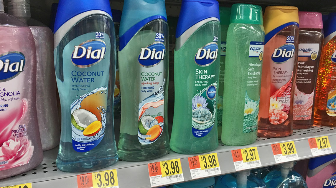 4ed45af61a805b Possibly Free Dial Body Wash at Walmart! - The Krazy Coupon Lady