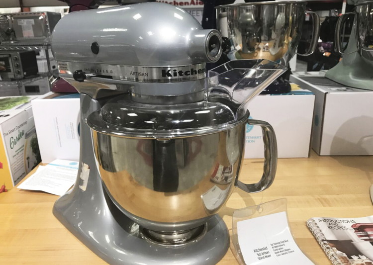 KitchenAid Classic Plus 4.5-Quart Stand Mixer, Only $168 ...