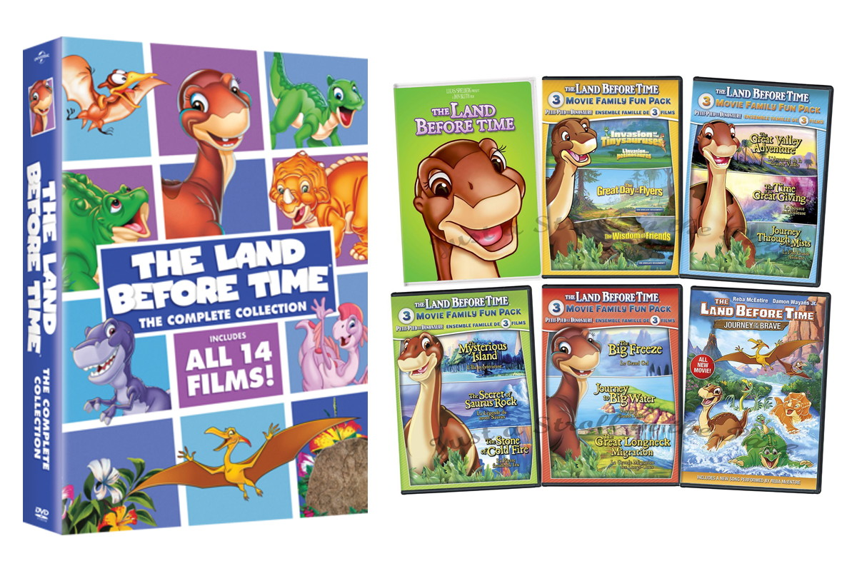 the land before time the complete collection dvd set only 22 99