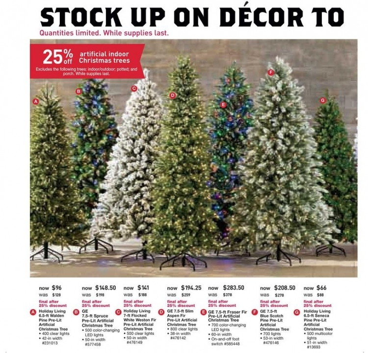 first two weeks of december is the best time to buy an artificial tree - Black Friday Deals On Christmas Trees