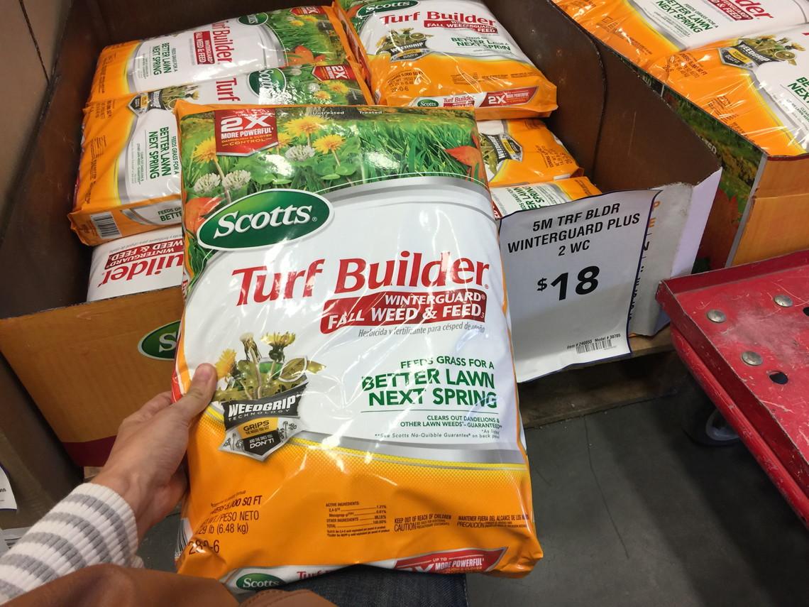 Scotts turf builder lawn fertilizer with halts crabgrass for Home depot richland wa