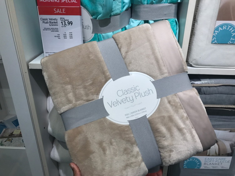 Home Design Mattress Pads & Martha Stewart Fleece Blankets, Only ...