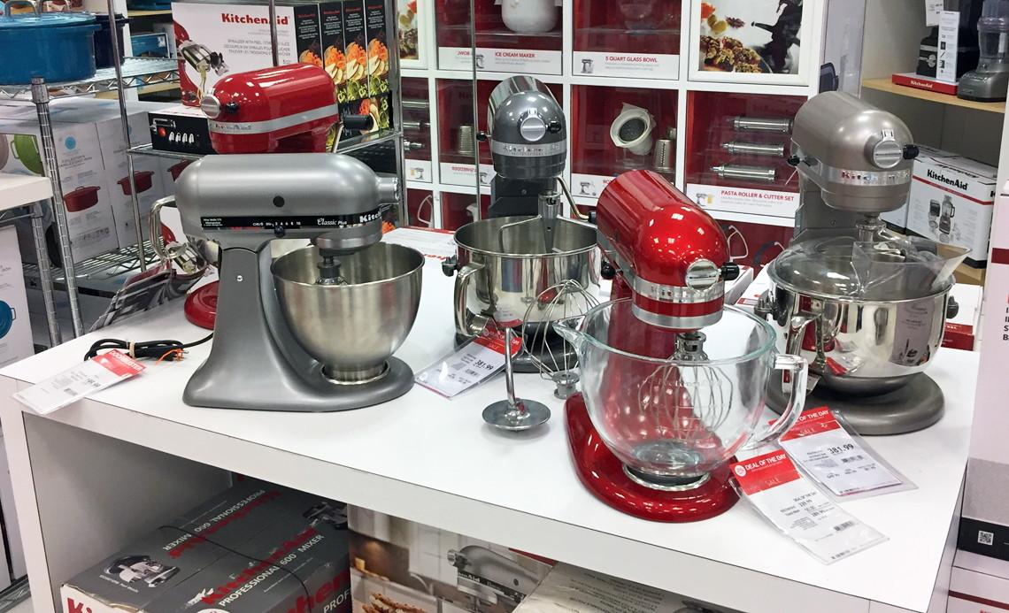 Buy 1 KitchenAid KSM105GBC 5 Qt. Stand Mixer With Glass Bowl U0026 Flex Edge  Beater (reg. $349.00) $199.99, Sale Price Through 11/15