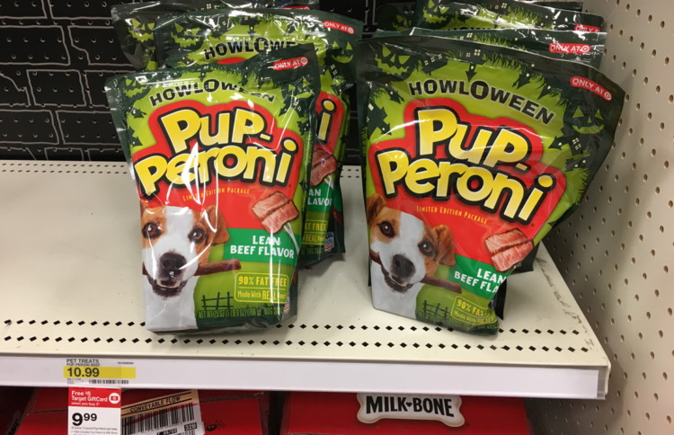 Pup-Peroni Halloween Dog Treats, Only $4.99 at Target–Save $5.00!