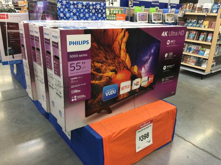 97bec0580d1 Buy 1 Philips 55″ Class 4K 2160p Smart LED TV – 55PFL5402 F7 (reg.  498.00)   398.00
