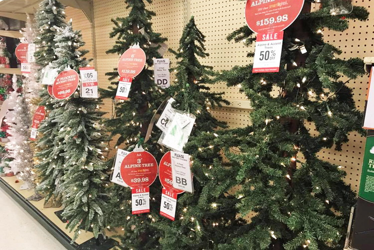 50 Off Christmas Decor At Hobby Lobby The Krazy Coupon Lady
