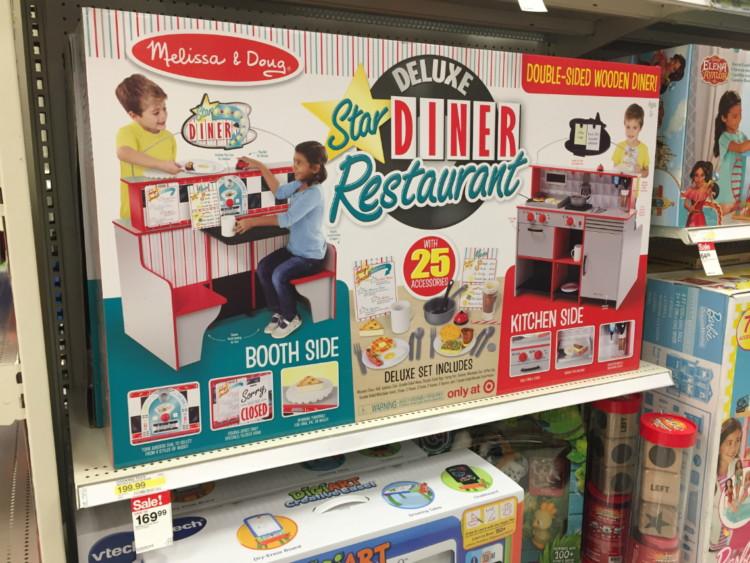 Melissa & Doug Deluxe Star Diner Restaurant, Only $121.12 at Target!