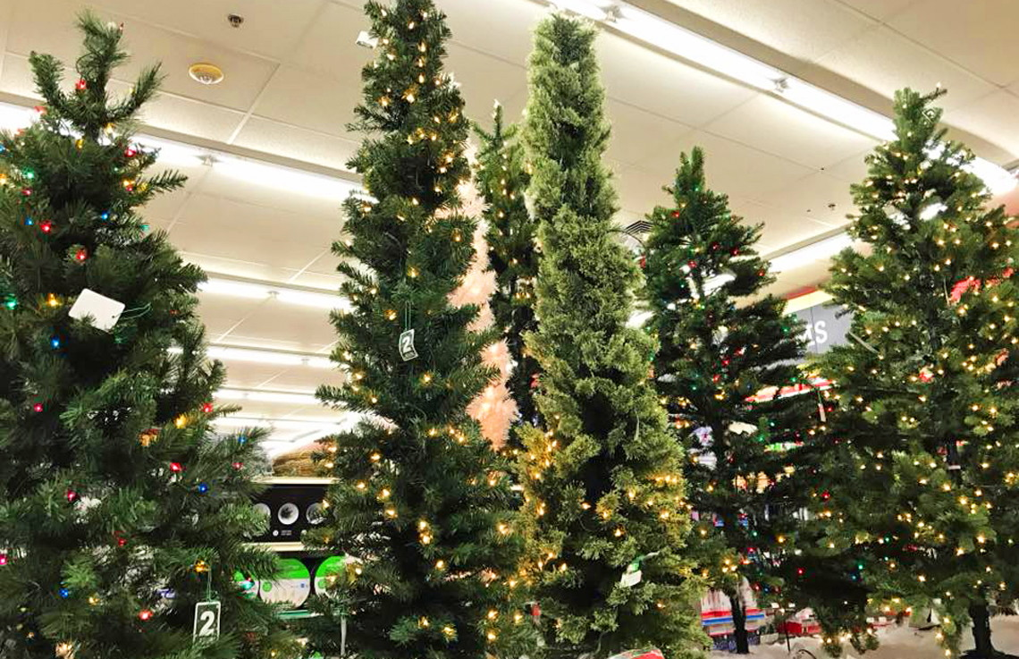0 - Michaels Artificial Christmas Trees
