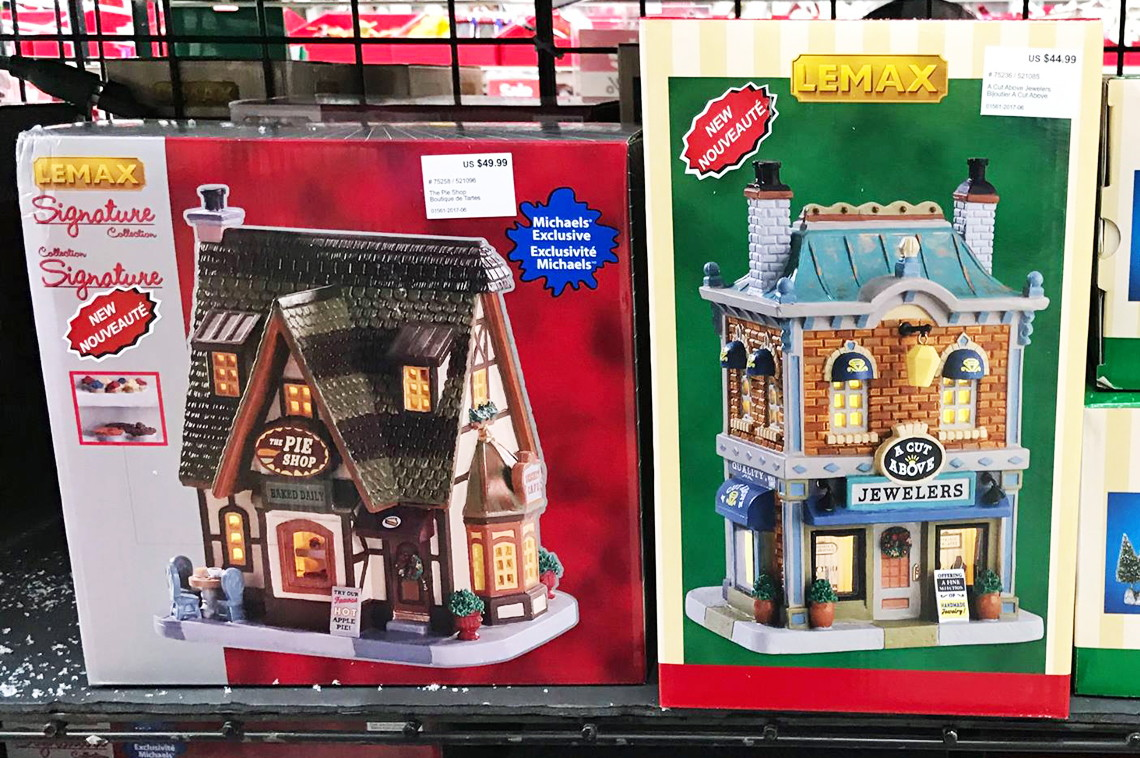 buy 1 lemax a cut above jewelers reg 4499 2699 sale price through 1125 free shipping on purchases of 4900 or more final price 2699 - Christmas Village Sets Michaels